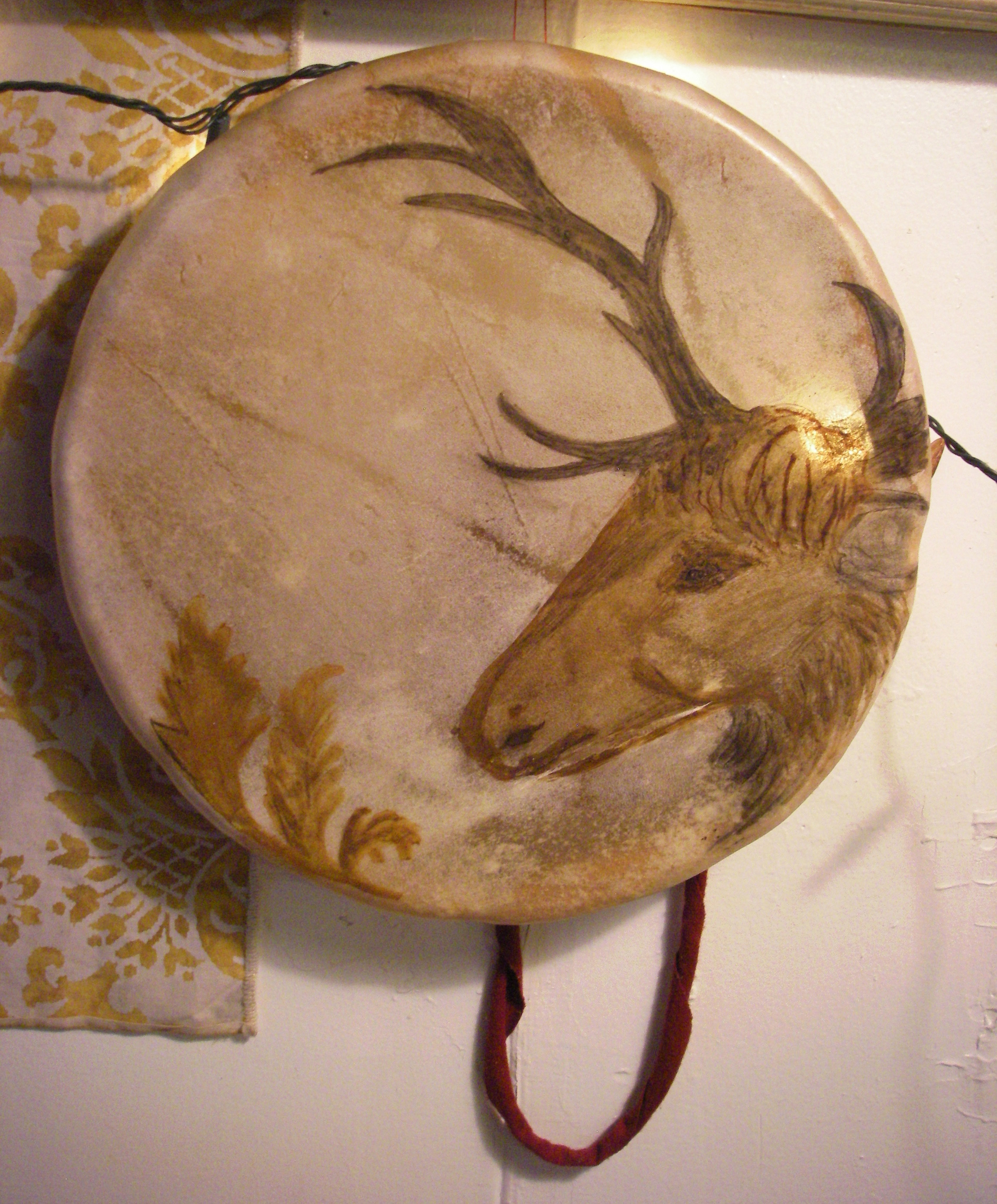 Elk Head Drum