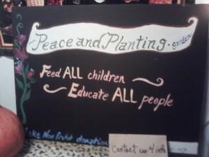 PeaceandPlanting D0T GARDEN dec15