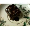 Black crunch cake