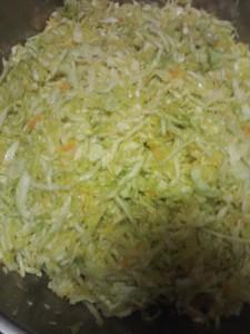 Food fresh salted kimchi apr15